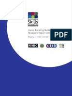 Home Building Skills Report Aug 2013