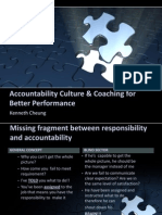 Accountability Culture & Coaching for Better Performance