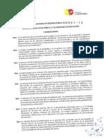 Acuerdo Interministerial 005 14 Bares Escolares b