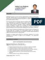 CV Frank Christian Lara Baldeón