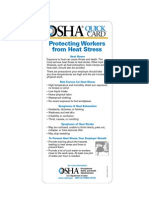Protecting Workers From Heat Stress
