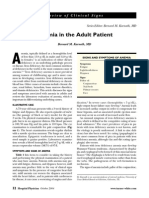 Anemia in the Adult Patient