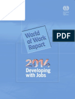 World of Work Report 2014  Developing with Jobs, ILO