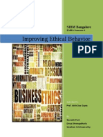White Paper Improving Ethical Behavior