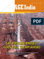 Gas Pipeline Project Goes Full Steam Ahead India