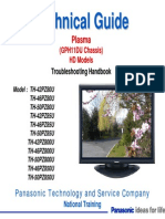 Panasonic Plasma TH 50PZ80