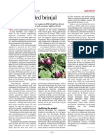 The embroiled brinjal - Business India