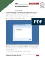 Instalación de Microsoft Office 2007