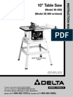 36-550 Delta Table Saw