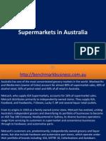 Supermarkets in Australia