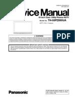 Panasonic Plasma TH-50PZ800UA Service Manual
