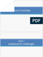 Level 6 Activities