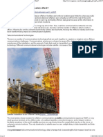 RIGZONE - How Do Offshore Communications Work