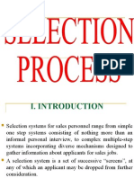 9. Selection Process