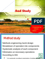 Methodstudy Operations Management