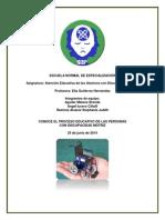 Guía de Atención Educativa a Alumnos Con Discapacidad Motriz