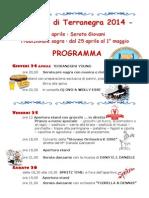 Sagra - Programma 2014