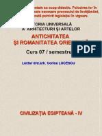 Curs 07 Sem II Civ.egipteana IV