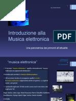 musica elettronica Slide Corso