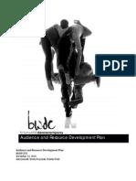 BWDC Marketing and Development Plan