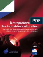 Guide Entreprendre Dans Les Industries Culturelles
