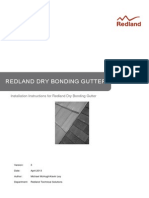Redland Bonding Gutter Installation Instructions 3