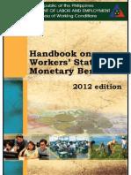 2012 Handbook DOLE
