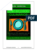 500 Segredos Culinarios Revelados