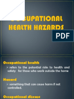 occupatinal health hazards