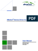 AlvariSTAR 4Motion Device Manager Ver.2.5.2 User Manual 090909