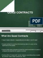 Quasi Contract(68 72)