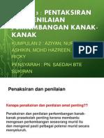 Prinsip-prinsip penaksiran dan penilaian
