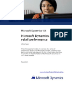 Microsoft Dynamics Ax 2012 Retail Performance
