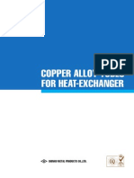 KOBELCO-Copper-Alloy Tubes for Heat Exchangers
