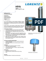 Pompa Ssubmersibila PS150 Centric Specs Ecv