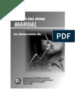 172130527 56831386 Analisis Soal Secara Manual Libre