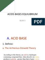 Acids Bases Equilibrium