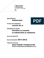 Doctrine in arhitectura