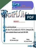 DIPL. Premiu Variant B