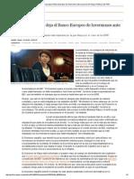 Magdalena Álvarez Deja El Banco Europeo de Inversiones Ante La Presión de Rajoy _ Política _ EL PAÍS