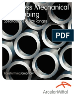 Seamless Mechanical Steel Tubing Specification & Sizes