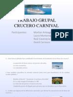 Trabajo Grupal Crucero Carnival
