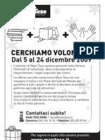 Mani Tese cerca volontari! (Edizione 2009)