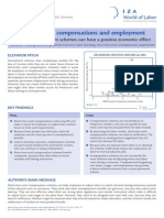 Short Time Work Compensations and Employment.one Pager