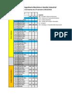 Mapa Exames MEMGi 1ano2S 2013-14