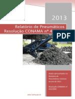 relatorio pneumaticos - 2013