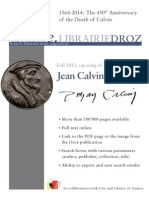 Brochure Portail Calvin En
