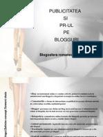 Publicitatea Si PR-ul Pe Blogguri Ratiu Bianca Master PR an I IFR