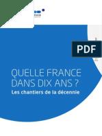 Rapport la France dans dix ans