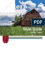Final Product Redesign Style Guide